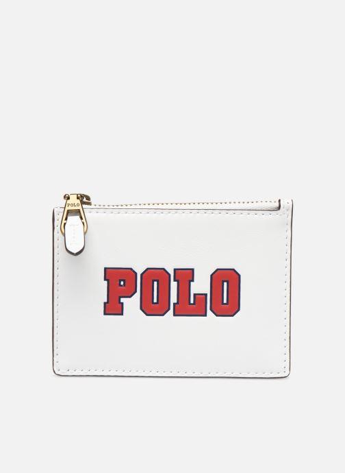 Petite Maroquinerie Polo Ralph Lauren ZIP CC CARD CASE S Blanc vue détail/paire
