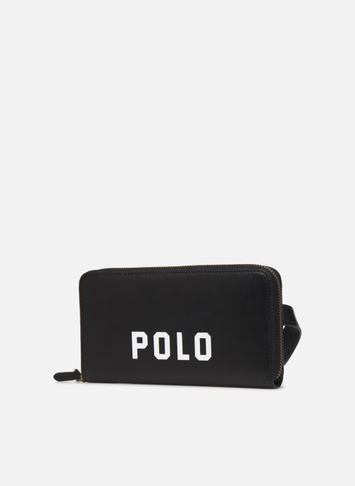 Petite Maroquinerie Polo Ralph Lauren LONG ZIP BELT BAG Noir vue portées chaussures