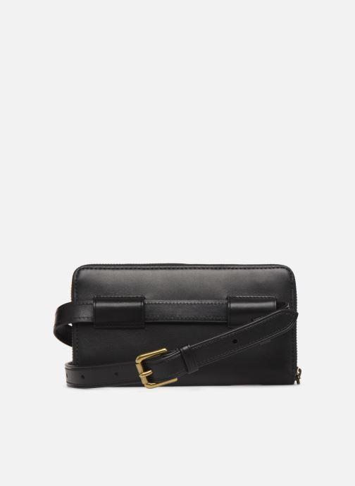 Petite Maroquinerie Polo Ralph Lauren LONG ZIP BELT BAG Noir vue face