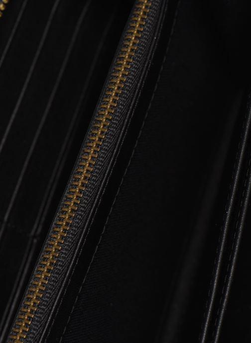 Kleine lederwaren Polo Ralph Lauren LONG ZIP BELT BAG Zwart achterkant