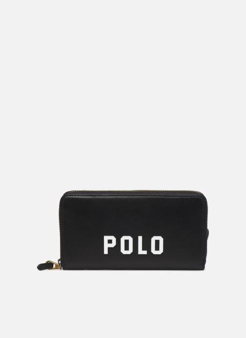 Kleine lederwaren Polo Ralph Lauren LONG ZIP BELT BAG Zwart detail