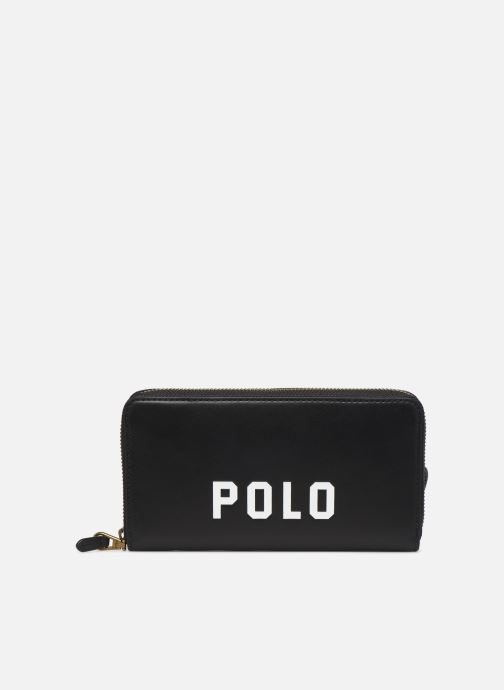 Kleine lederwaren Polo Ralph Lauren LONG ZIP BELT BAG Zwart detail