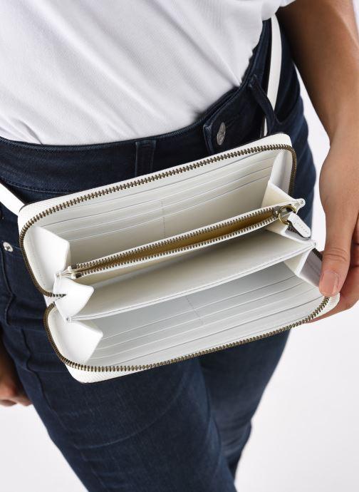 Petite Maroquinerie Polo Ralph Lauren LONG ZIP BELT BAG Blanc vue derrière