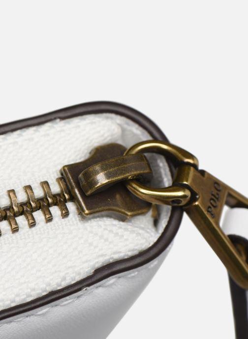 Borse Polo Ralph Lauren LONG ZIP BELT BAG Bianco immagine sinistra