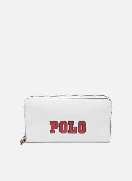 Petite Maroquinerie Polo Ralph Lauren LONG ZIP BELT BAG Blanc vue détail/paire