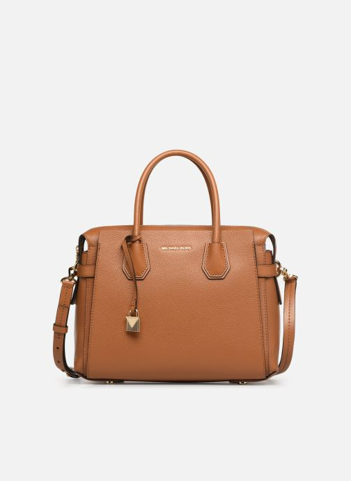 30e8a2238b4a5 Handtaschen Michael Michael Kors MERCER BELTED MD SATCHEL braun detaillierte  ansicht modell