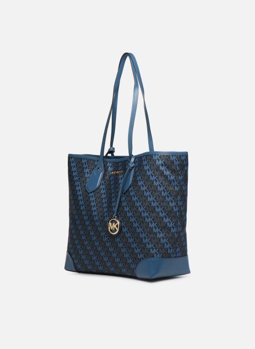 Bolsos de mano Michael Michael Kors EVA LG TOTE Azul vista del modelo