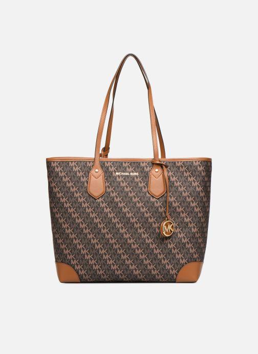 Handtaschen Michael Michael Kors EVA LG TOTE braun detaillierte ansicht/modell
