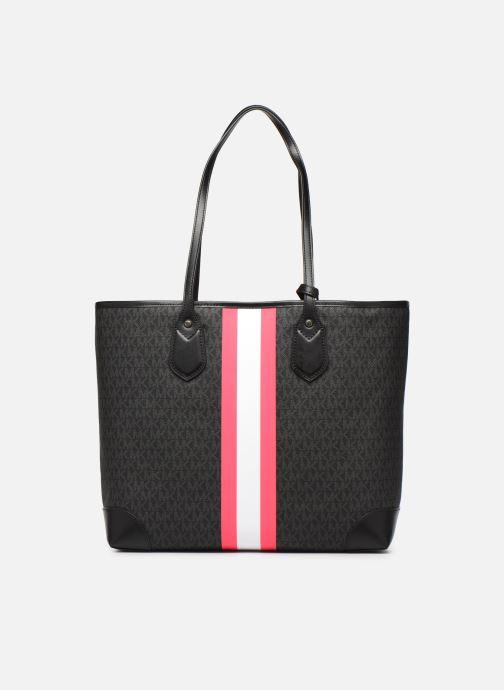 Handtaschen Michael Michael Kors EVA LG TOTE schwarz ansicht von vorne