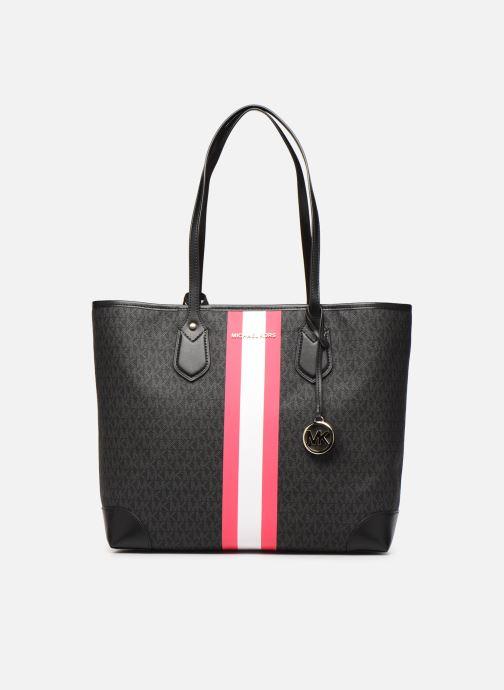 Handtaschen Michael Michael Kors EVA LG TOTE schwarz detaillierte ansicht/modell