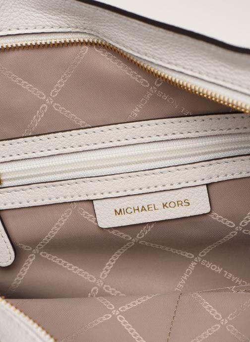 Handtaschen Michael Michael Kors BROOKE HOBO weiß ansicht von hinten