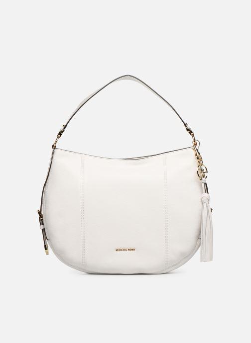 Handtaschen Michael Michael Kors BROOKE HOBO weiß detaillierte ansicht/modell
