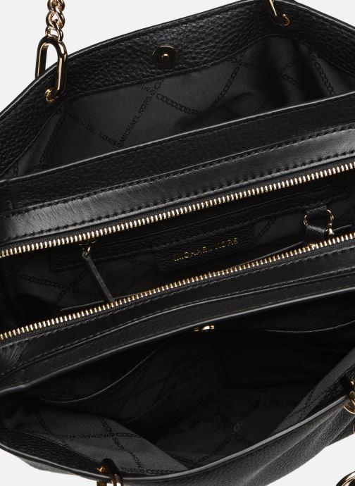 Handväskor Michael Michael Kors LILLIE MD SATCHEL Svart bild från baksidan