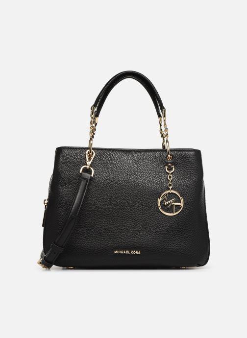 47f5013e5b7b7 Handtaschen Michael Michael Kors LILLIE MD SATCHEL schwarz detaillierte  ansicht modell