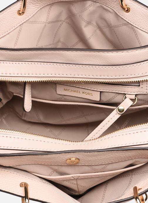 Handbags Michael Michael Kors LILLIE MD SATCHEL Pink back view