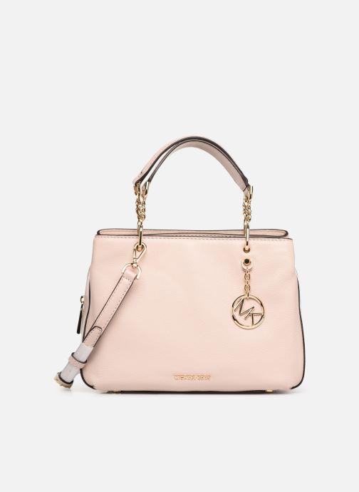 Handbags Michael Michael Kors LILLIE MD SATCHEL Pink detailed view/ Pair view