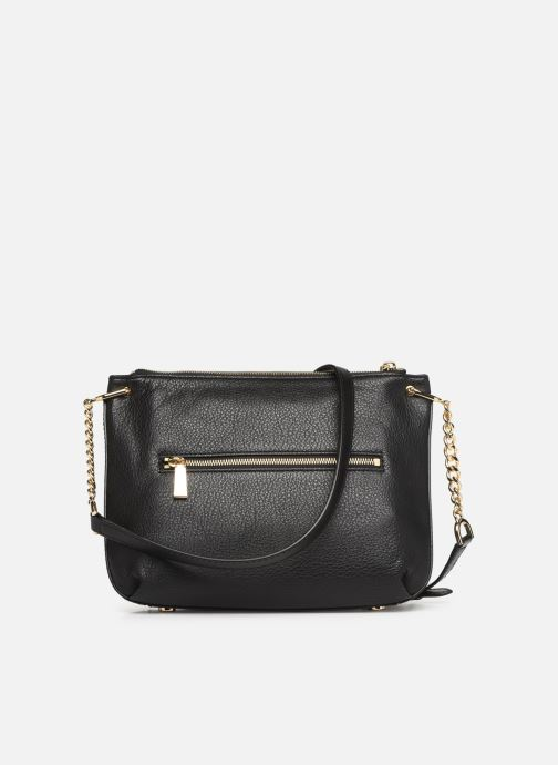 Handbags Michael Michael Kors LILLIE LG MESSENGER Black front view
