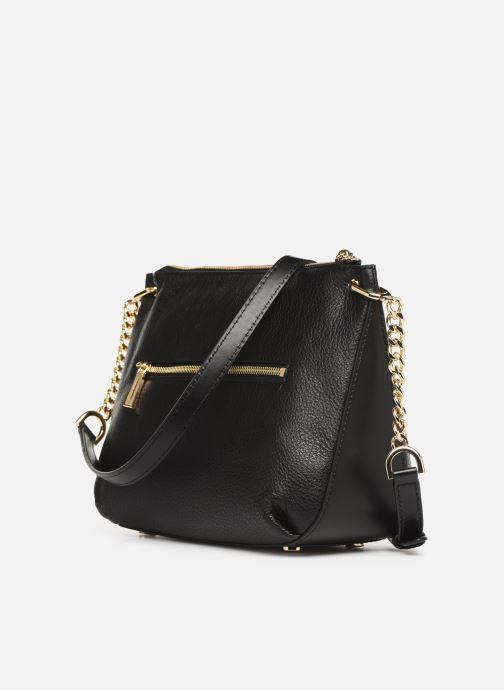 Handbags Michael Michael Kors LILLIE LG MESSENGER Black view from the right