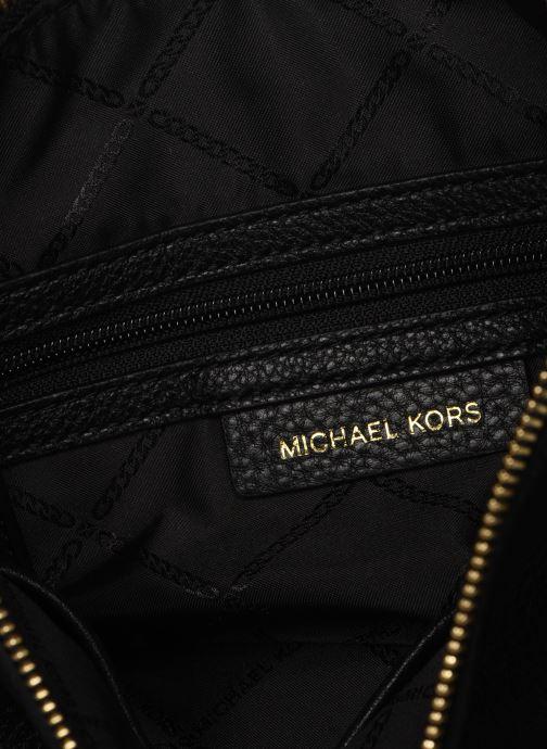 Sacs à main Michael Michael Kors LILLIE LG MESSENGER Noir vue derrière