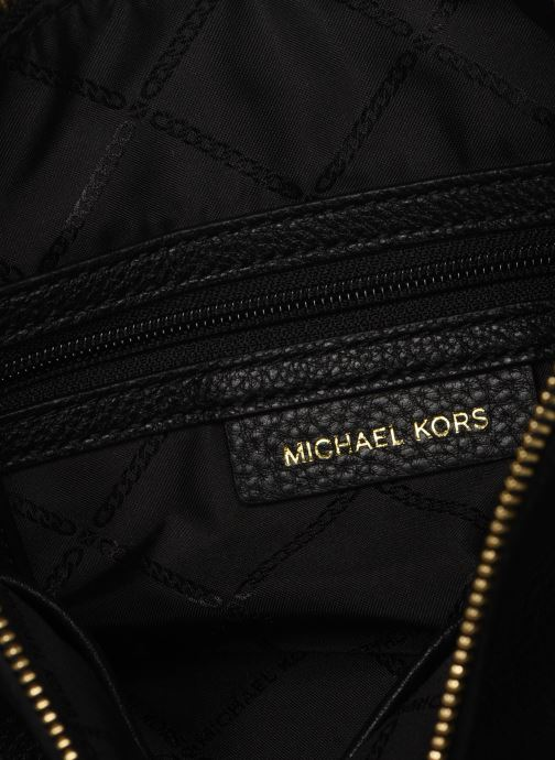 Handbags Michael Michael Kors LILLIE LG MESSENGER Black back view