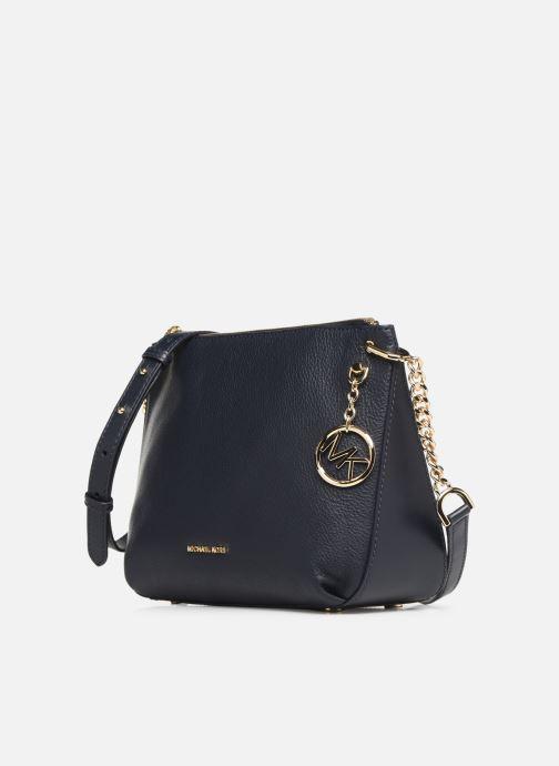 Handtaschen Michael Michael Kors LILLIE LG MESSENGER blau schuhe getragen