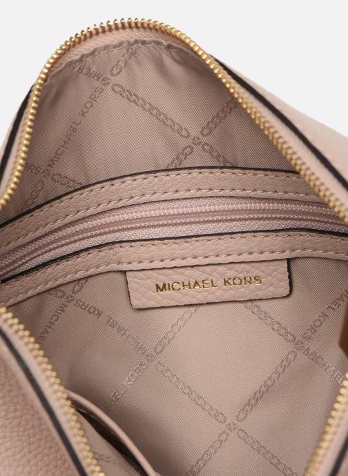 Handtaschen Michael Michael Kors LILLIE LG MESSENGER rosa ansicht von hinten