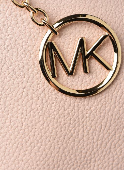 Handtaschen Michael Michael Kors LILLIE LG MESSENGER rosa ansicht von links
