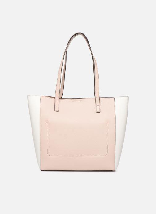 Handtaschen Michael Michael Kors ANNETTE LG POCKET TOTE rosa ansicht von vorne