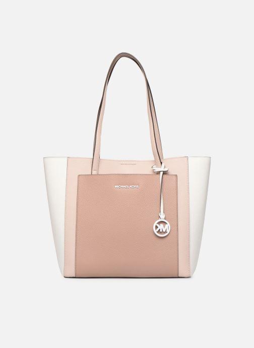Handtaschen Michael Michael Kors ANNETTE LG POCKET TOTE rosa detaillierte ansicht/modell