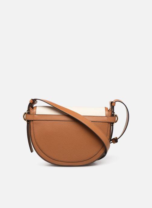 e75a34de311 Michael Michael Kors MARA MD SADDLE BAG (White) - Handbags chez ...