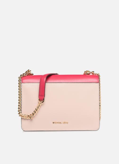 Handtaschen Michael Michael Kors JADE LG GUSSET SHOULDER rosa ansicht von vorne
