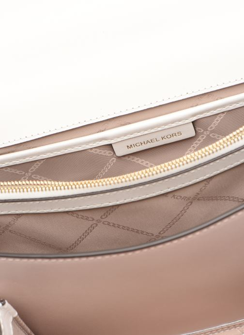 Handtaschen Michael Michael Kors JADE LG GUSSET SHOULDER rosa ansicht von hinten