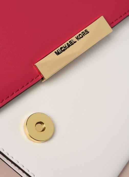 Handtaschen Michael Michael Kors JADE LG GUSSET SHOULDER rosa ansicht von links