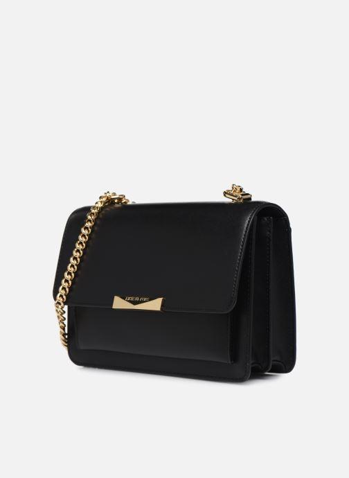 Handtassen Michael Michael Kors JADE LG GUSSET SHOULDER Zwart model