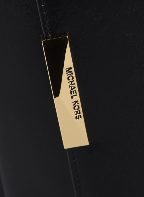 Handtassen Michael Michael Kors JADE LG GUSSET SHOULDER Zwart links