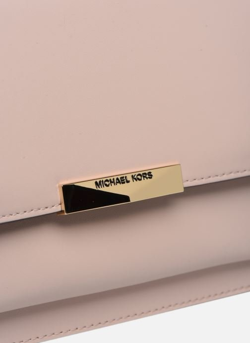 Sacs à main Michael Michael Kors JADE LG GUSSET SHOULDER Beige vue gauche