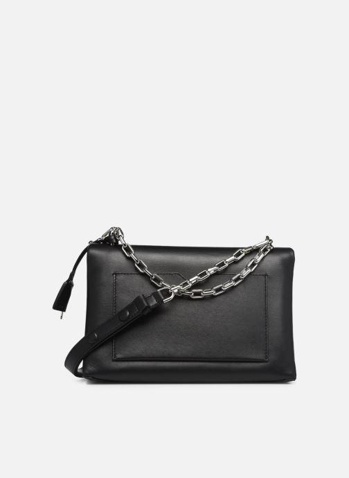 Handbags Michael Michael Kors CC LG CHAIN SHOULDER Black front view