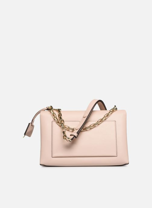 Handbags Michael Michael Kors CC LG CHAIN SHOULDER Pink front view