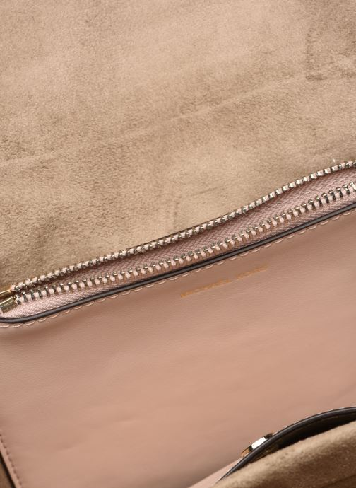 Handbags Michael Michael Kors CC LG CHAIN SHOULDER Pink back view