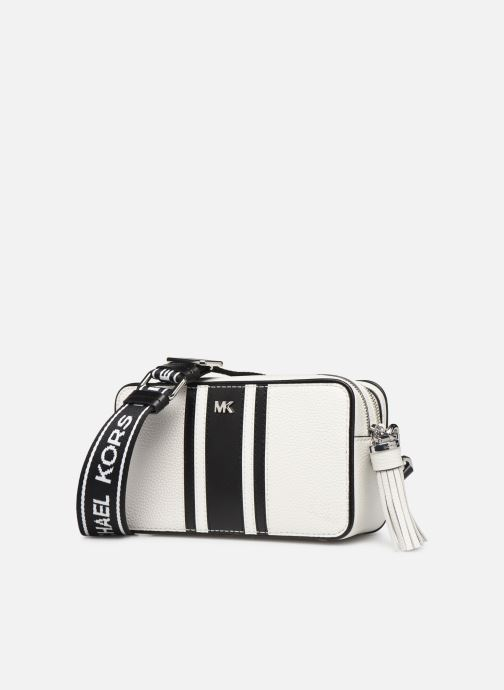 Handtassen Michael Michael Kors SM CAMERA BAG Wit model
