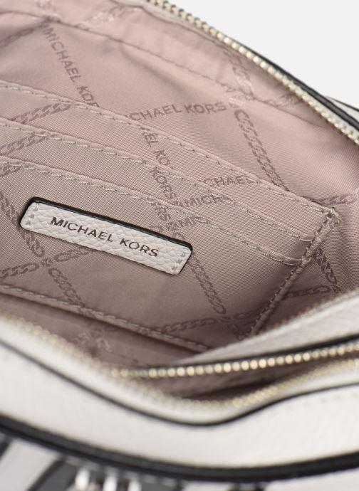 Handtassen Michael Michael Kors SM CAMERA BAG Wit achterkant