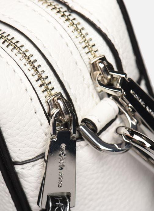 Bolsos de mano Michael Michael Kors SM CAMERA BAG Blanco vista lateral izquierda