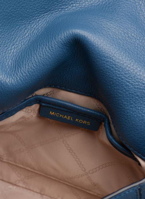 Sacs à main Michael Michael Kors HALF DOME Bleu vue derrière