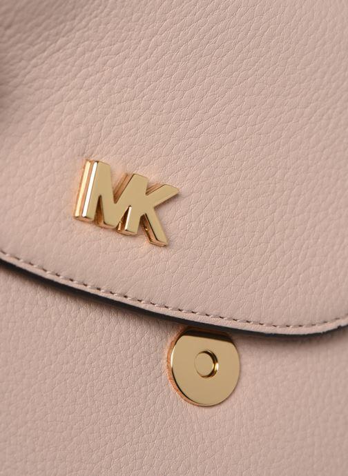 Bolsos de mano Michael Michael Kors HALF DOME Rosa vista lateral izquierda