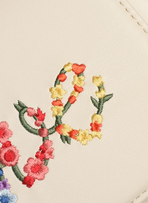 Sacs à main Love Moschino EVENING BAG FLOWERS LOVE Blanc vue gauche