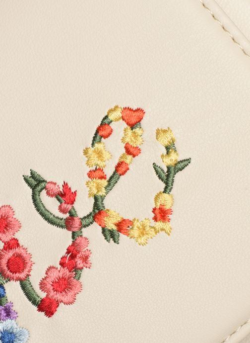 Handtassen Love Moschino EVENING BAG FLOWERS LOVE Wit links