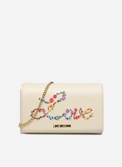 Handtassen Love Moschino EVENING BAG FLOWERS LOVE Wit detail