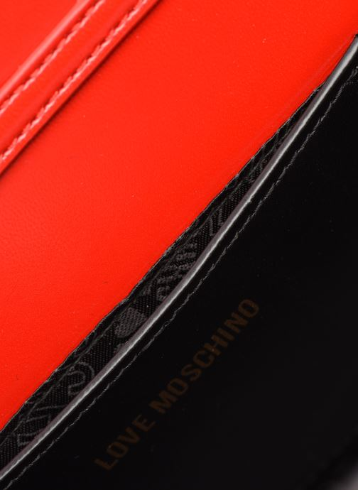 Handtassen Love Moschino NEW SHINY QUILTED Rood achterkant
