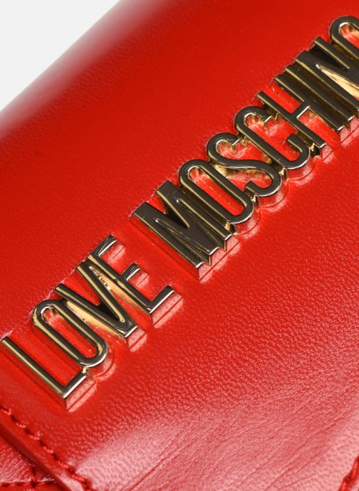 Handtassen Love Moschino NEW SHINY QUILTED Rood links