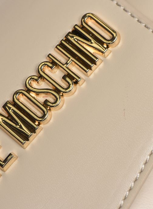 Handtassen Love Moschino NEW SHINY QUILTED Beige links